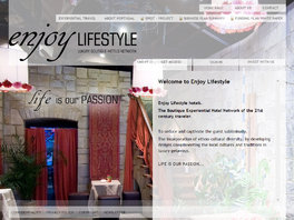 Enjoy Life Style Hotels - Cadeia de  Boutique Experiential Hotels
