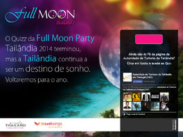 Full Moon Party - Turismo Tailandês - Quiz online sobre Tailândia