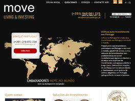 Move to Portugal - Web Site Investimentos em Portugal