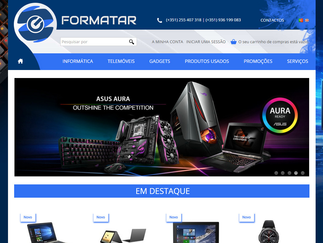 Formatar - Computers, Cell Phones and Gadgets