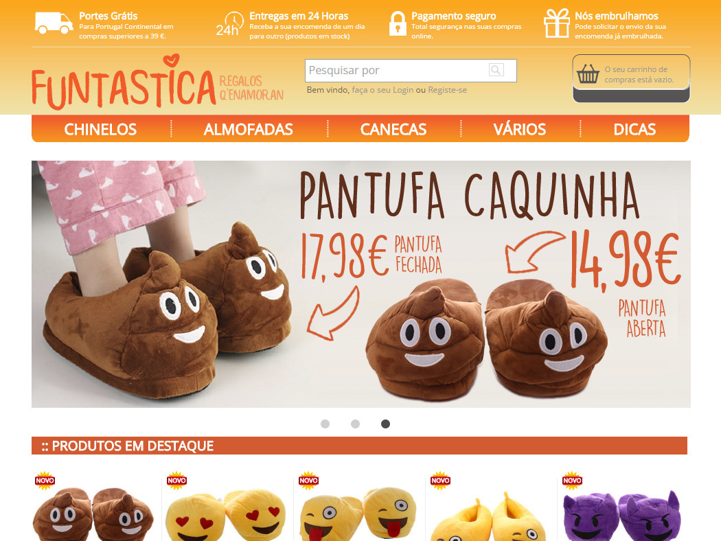 Funtástica - Original and fun products