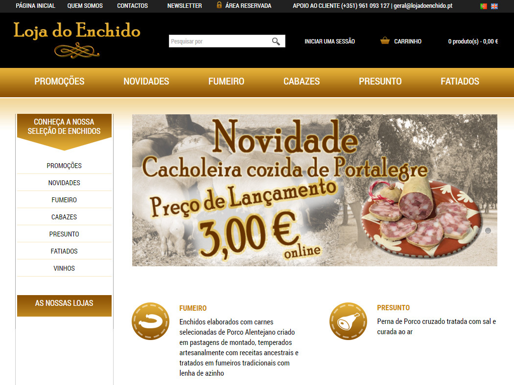 Loja do Enchido - Enchidos Alentejanos