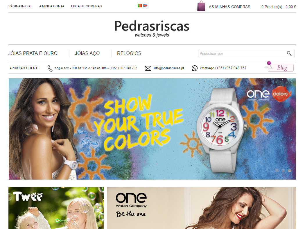 Pedras Riscas - Watches & Jewels